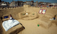 Travel Spotting: Sand Castle Hotel in Dorset UK