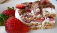Yum Alert: No-Bake Strawberry Icebox Cake
