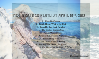 Music Spotting: Warm Weather Playlist