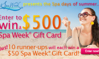 "Celebrate the ""Spa"" Days of Summer – Win $500 from Spa Week!"