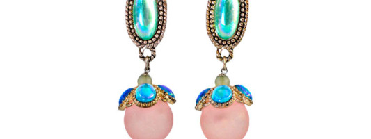 Accessories Spotting: Vintage Cleopatra Earrings