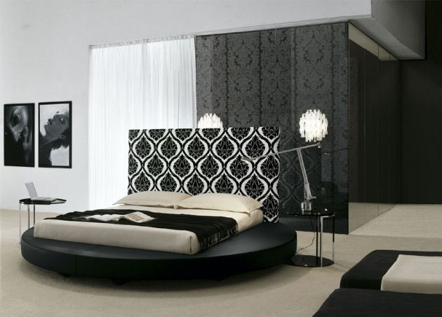 via. Modern Italian Bedroom design
