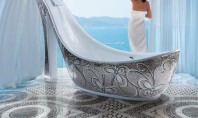 Decor Spotting: The High-Heel Bathtub