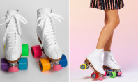 Style Spotting: Colorblock Roller Skates