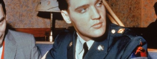 Celeb Spotting: Nothing Hotter Than Elvis Presley in Uniform