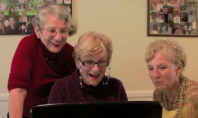 Internet Spotting: 3 Grandmas Watch Kim Kardashian's Sex Tape