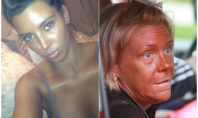 "Celeb Spotting: Kim Kardashian Challenges 'Tanning Mom' To A ""Who's Tanner?"" Competition"