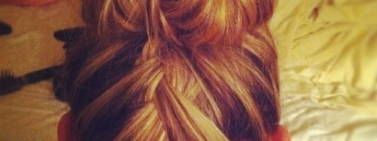Trendy Braid Bun of the Day