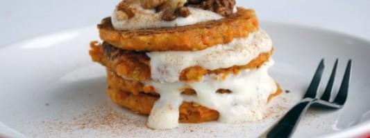 Yum Alert: Carrot Cake Pancakes