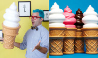 Awesome Spotting: Giant Ice Cream Lamps