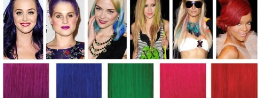 Giveaway Spotting: Neon Hair Extensions From Milani Hair