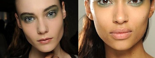 Beauty Spotting: Sea Green Eye Shadow