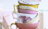Vintage Spotting: Eclectic Teacups