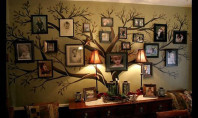 Decor Spotting: Family Tree Wall Mural