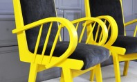 Decor Spotting: Mellow Yellow Chairs