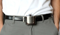 Awesome Spotting: A Belt Buckle For Your Booze