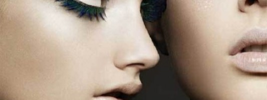 Beauty Spotting: Crazy False Eyelashes