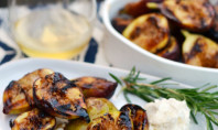 Yum Alert: Grilled Figs with Honeyed Mascarpone