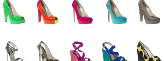 Fashion Crave: Color Your Feet With the Chaos of Heels