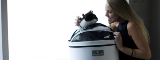 Travel Gear Spotting: Luxury Cat Carrier