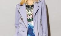 Style Spotting: Rad, Lilac Biker Jacket