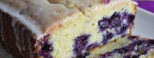 Yum Alert: Lemon Blueberry Bread