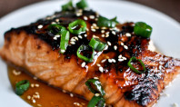 Yum Alert: Toasted Sesame Ginger Salmon