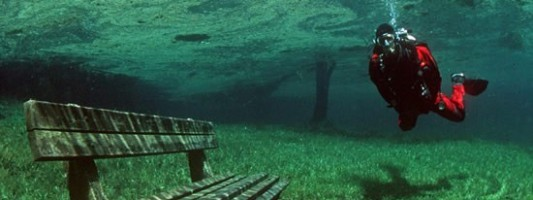 Travel Spotting: An Underwater Hiking Trail in Austria