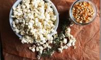 Yum Alert: Rosemary Parmesan Popcorn