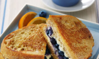 Yum Alert: Blueberry French Toast Sandwhich