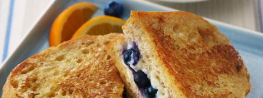 Yum Alert: Blueberry French Toast Sandwhich