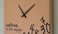 Decor Spotting: Hot Mess Wall Clock