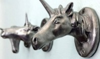 Decor Spotting: The Unicorn Coat-rack