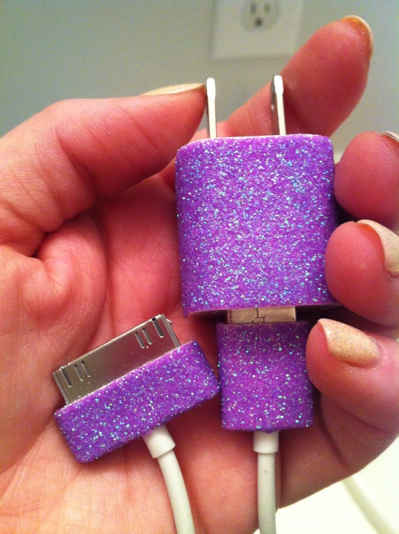 customized iphone charger