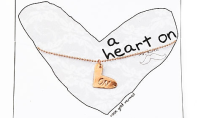 Totally Have a Heart On for This Necklace