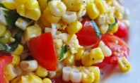 Yum Alert: Corn and Cherry Tomato Salad