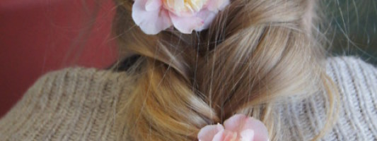 Fishtail Braids and Flowers Are Today's Hair Crave