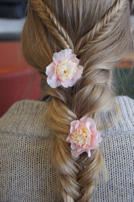 Flower Braids Tumblr