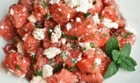 Yum Alert: Watermelon Salad with Feta & Mint