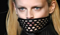 Style Spotting: Alexander Wang's 'Do Not Eat' Mask