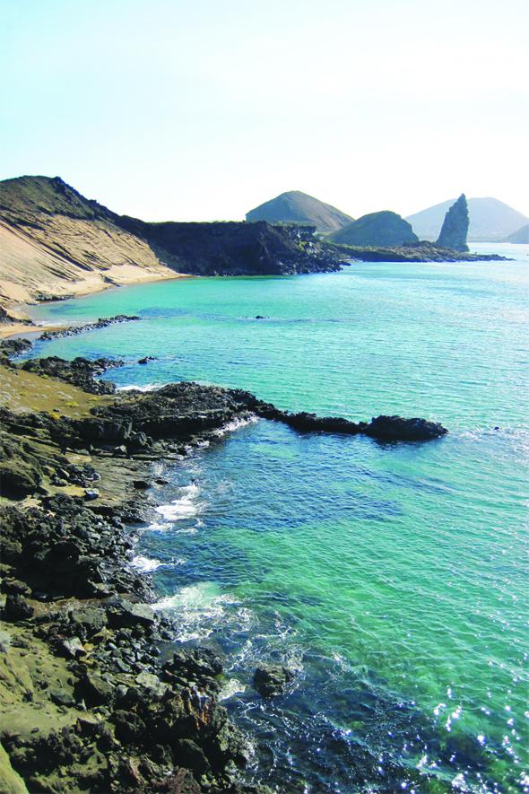 Bartolome Island, Pinnacle Rock