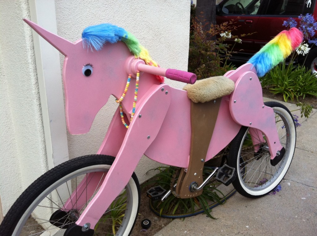 unicorn bike cycle
