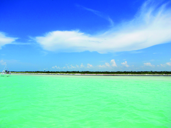Turquoise waters and pristine beaches