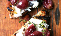 Yum Alert: Roasted Grapes with Thyme, Fresh Ricotta & Grilled Bread