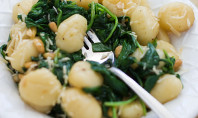 Yum Alert: Brown Butter Gnocchi with Spinach