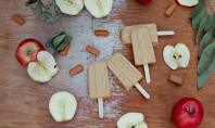 Yum Alert: Salted Caramel Apple Popsicles