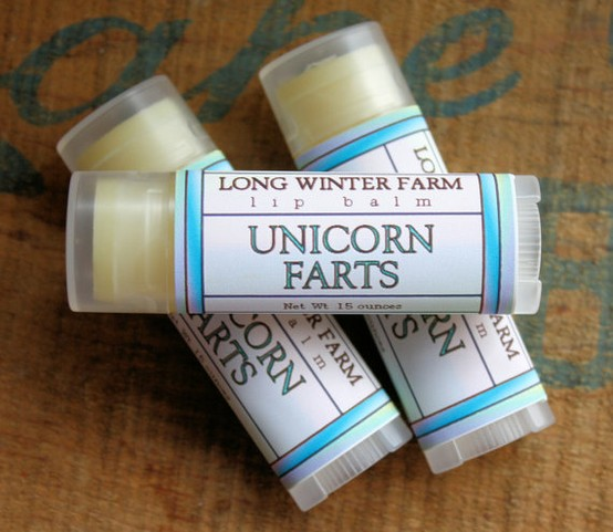 unicorn farts lipgloss