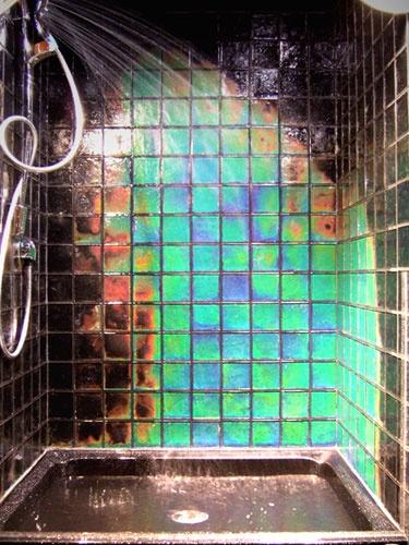 unique bathroom tiles