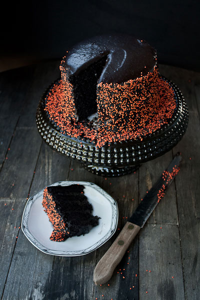 Black Velvet Cake Halloween recipes