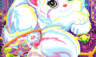 Lisa Frank princess kitten